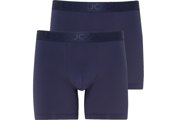 Jockey Microfiber Air BOXER TRUNK 2PACK night blue 2XL