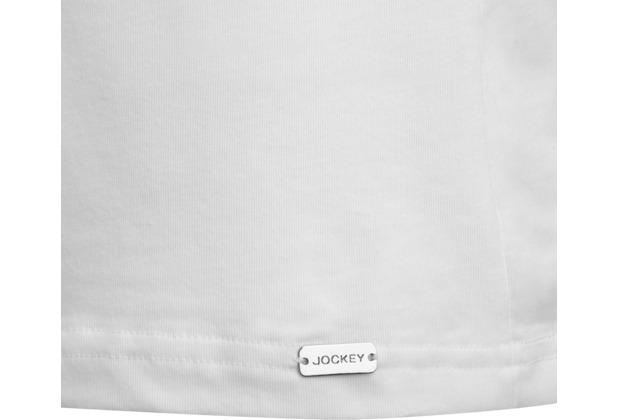 Jockey Modern Stretch T-Shirt rundhals, gerader Schnitt white 2XL