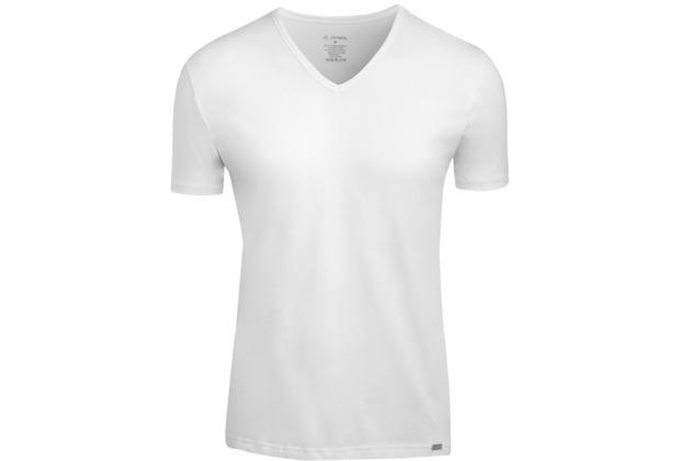 Jockey Modern Stretch V-Ausschnitt T-Shirt, gerader Schnitt white 2XL