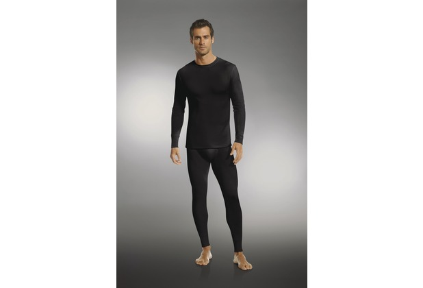 Jockey Modern Thermals Shirt mit langem Arm black S