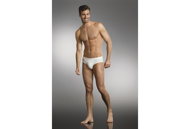 Jockey Premium Cotton Stretch Brief / Slip, Webgummibund white S