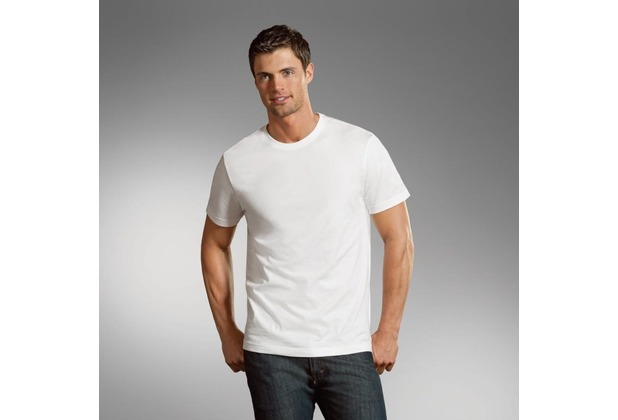 Jockey T-Shirts Rundhals T-Shirt mit geradem Schnitt. black S