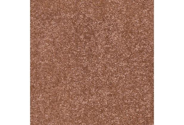 JOKA Teppichboden Luna - Farbe 62 braun 400 cm breit