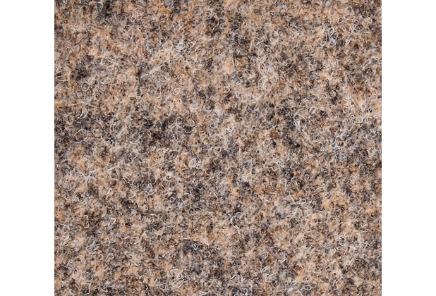 JOKA Teppichboden Nadelvlies Zirkon - Farbe 1060 braun 200 cm x Wunschlänge