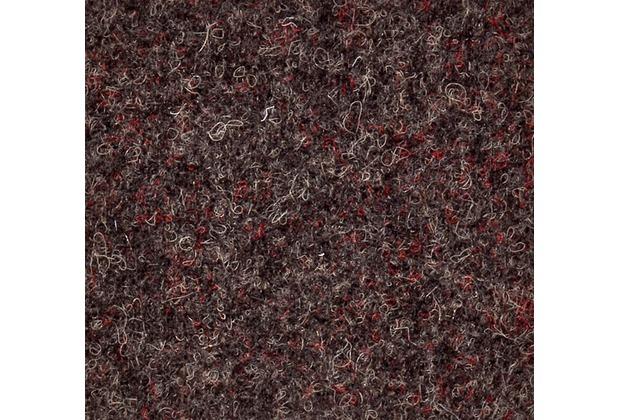 JOKA Teppichboden Nadelvlies Zirkon - Farbe 4060 braun 200 cm x Wunschlänge