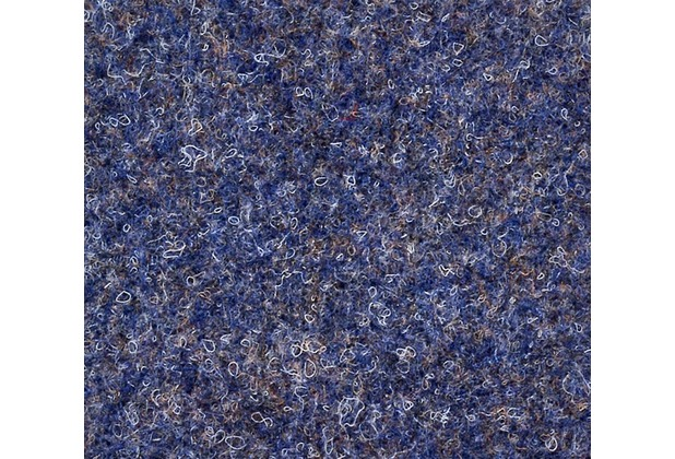 JOKA Teppichboden Nadelvlies Zirkon - Farbe 7060 blau 200 cm x Wunschlänge