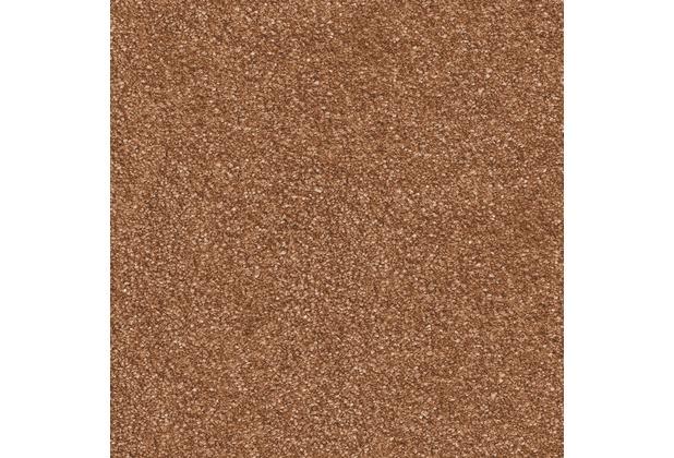 JOKA Teppichboden Piazza - Farbe 80 orange/terrakotta 400 cm breit