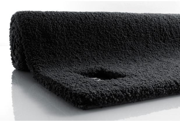 JOOP! Badteppich BASIC 15 schwarz 60 cm x 90 cm