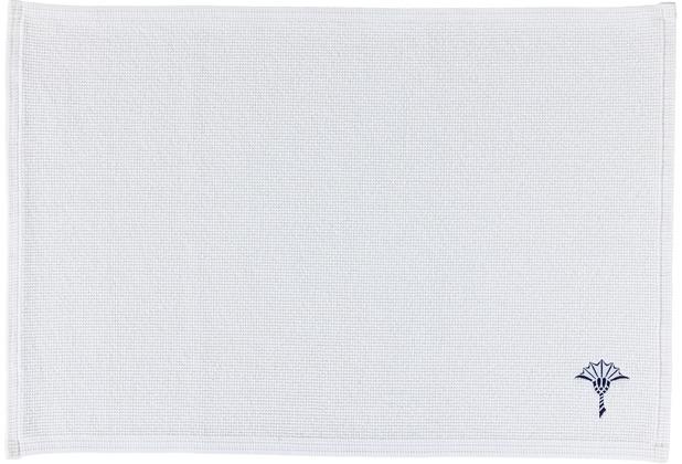 JOOP! Badteppich CORNFLOWER SINGLE 01 weiß 50 x 70 cm