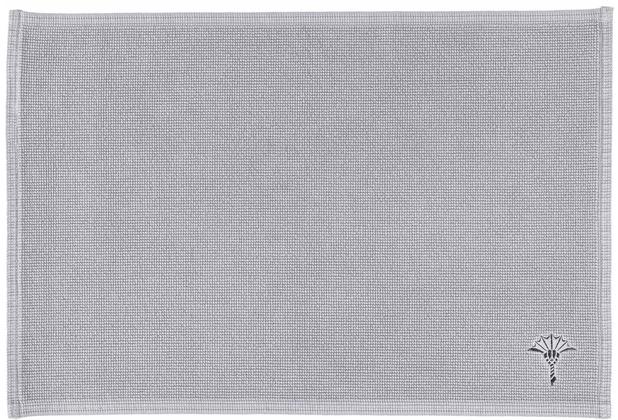 JOOP! Badteppich CORNFLOWER SINGLE 26 silber 50 x 70 cm