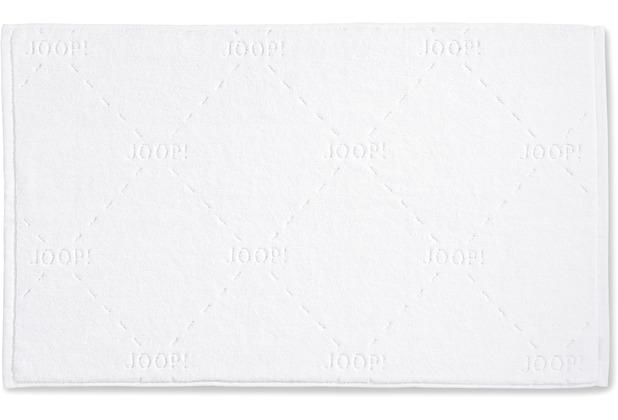 JOOP! Badteppich DASH 01 weiß 45 x 65 cm