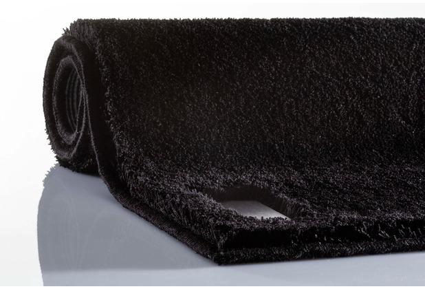 JOOP! Badteppich LUXURY schwarz 70 cm x 120 cm