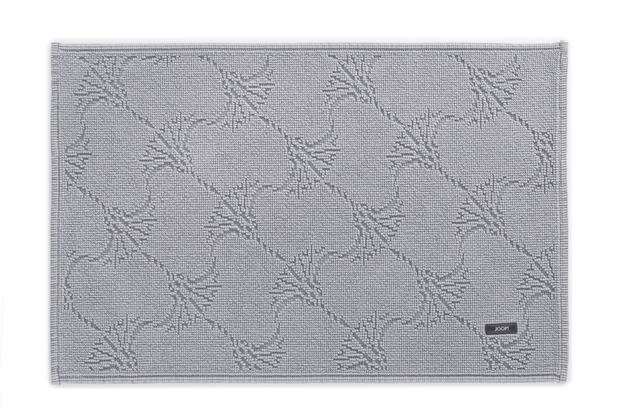 JOOP! Badteppich NEW CORNFLOWER 26 silber 50 x 70 cm