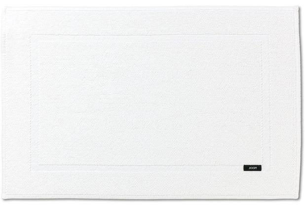 JOOP! Badteppich PEARL 01 weiß 50 x 70 cm