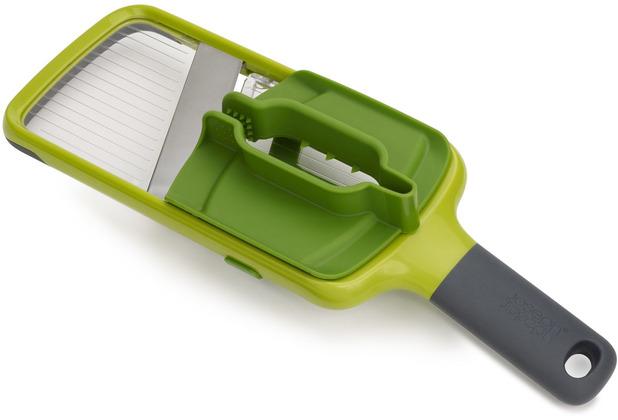 Joseph Joseph Multi-Grip Mandoline™ mit präzisem Lebensmittelgriff - Grün