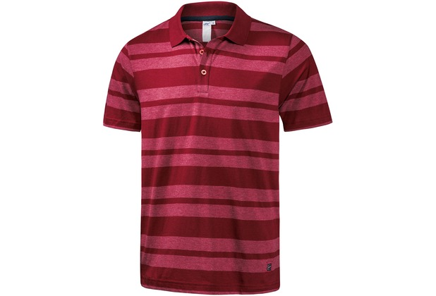 JOY sportswear Polo INGMAR terracotta stripes 48