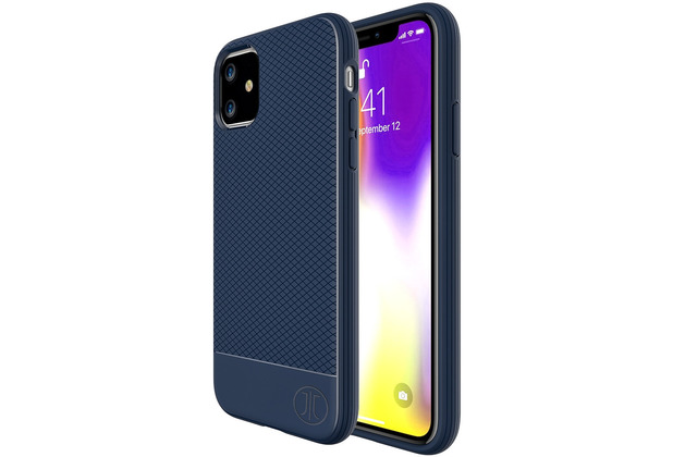 JT Berlin BackCase Pankow Soft, Apple iPhone 11, blau, 10557