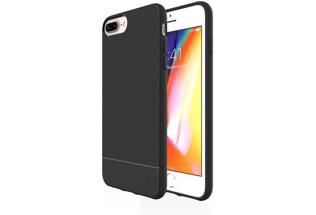 JT Berlin BackCase Pankow Soft, Apple iPhone 8 Plus/7 Plus, schwarz, 10473