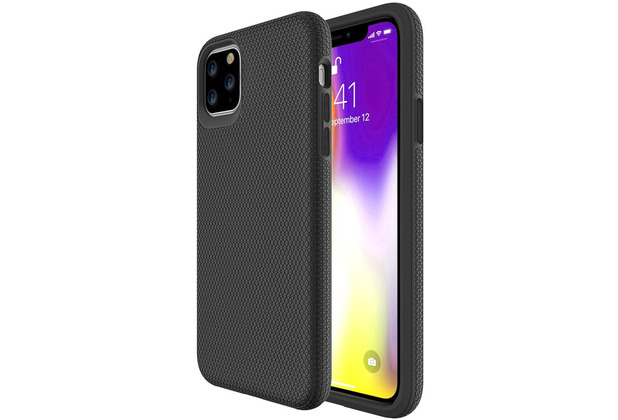 JT Berlin BackCase Pankow Solid, Apple iPhone 11, schwarz, 10563