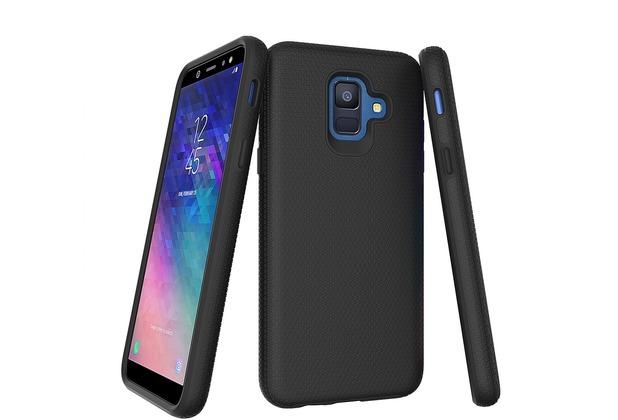JT Berlin BackCase Pankow Solid, Samsung Galaxy A6 (2018), schwarz, 10511
