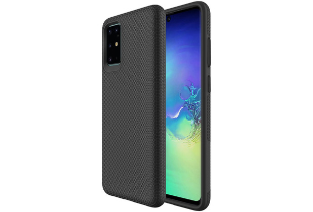 JT Berlin BackCase Pankow Solid, Samsung Galaxy S20+, schwarz, 10615