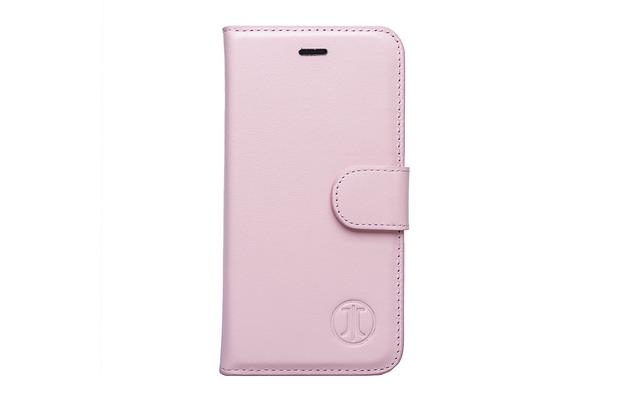 JT Berlin JT Berlin LederBook Style - Apple iPhone 7 Plus - rosé