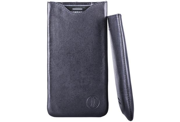 JT Berlin SlimFit Leder - Samsung Galaxy S6 - schwarz - 10026