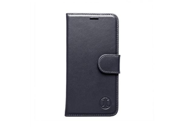 JT Berlin LederBook Kreuzberg - Samsung Galaxy S7 - schwarz