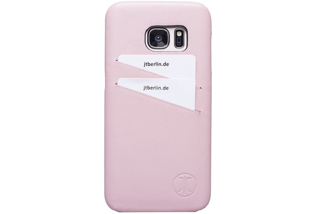 JT Berlin LederBook Style - Samsung Galaxy S7 - rose