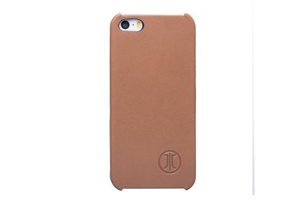 JT Berlin LederCover Kreuzberg - Apple iPhone SE/5/5S - cognac