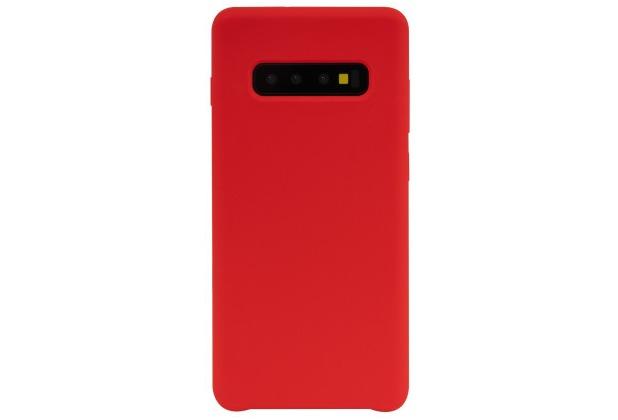 JT Berlin SilikonCase Steglitz, Samsung Galaxy S10+, rot