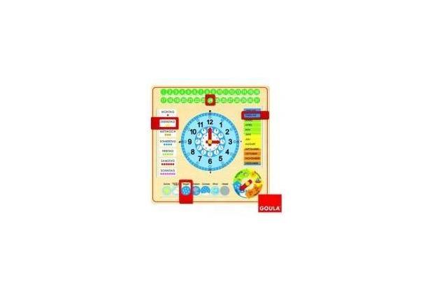 Jumbo Spiele Goula - Kalenderuhr