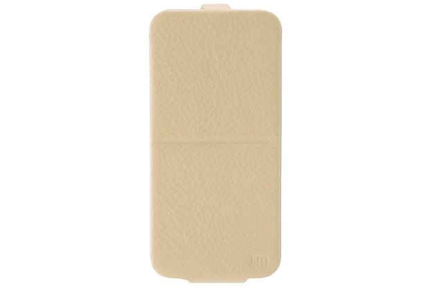 JustMobile SpinCase for iPhone 6, drehbares Case und Stand - beige