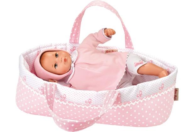 Käthe Kruse Puppe Mini Bambina Anna mit Tasche