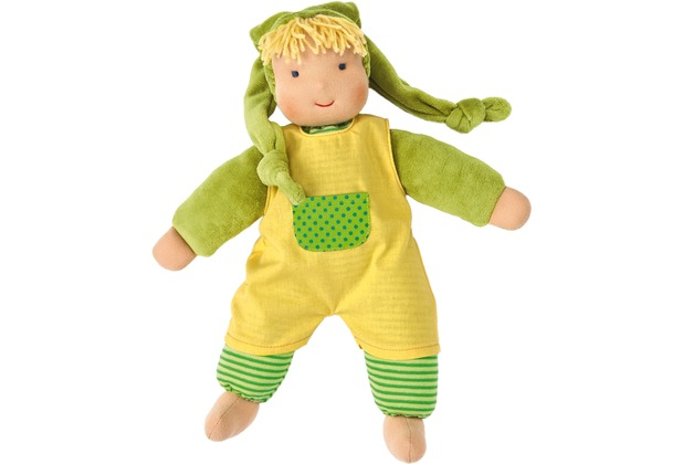 Käthe Kruse Puppe Schatzi grün