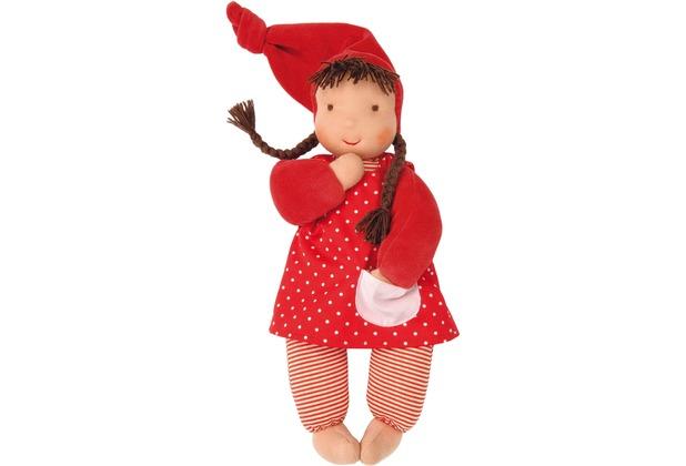 Käthe Kruse Puppe Schatzi rot