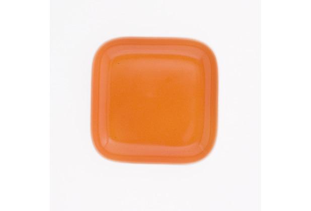 Kahla Abra Cadabra orange Deckelchen eckig 10 x 10 cm