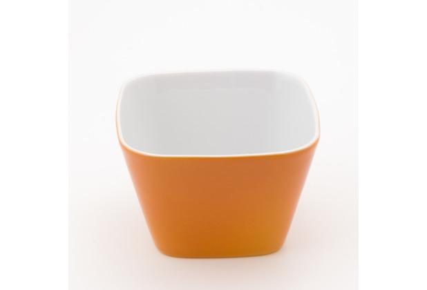 Kahla Abra Cadabra orange kleine Schale eckig 6 x 6 cm