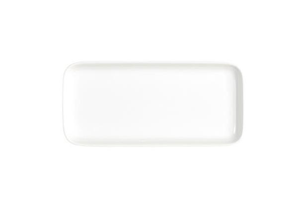 Kahla Abra Cadabra weiß Tablett rechteckig 20 x 9 cm