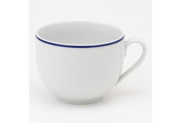 Kahla Aronda Blaue Linie Kaffee-Obertasse 0,21 l