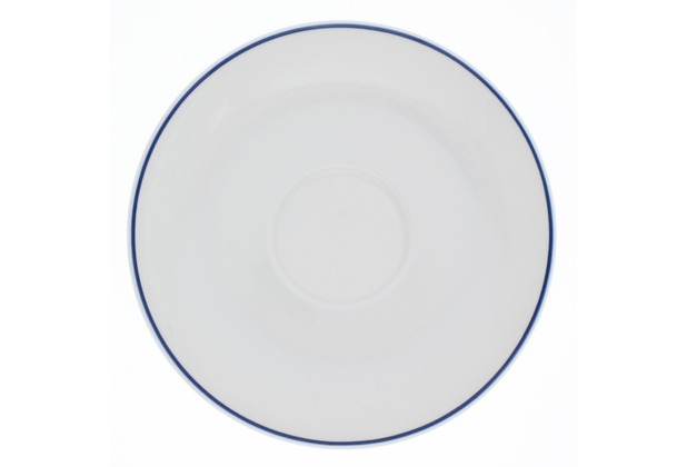 Kahla Aronda Blaue Linie Untertasse 15 cm