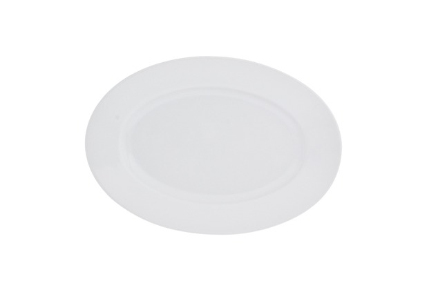 Kahla Aronda weiß Platte, oval 23 cm
