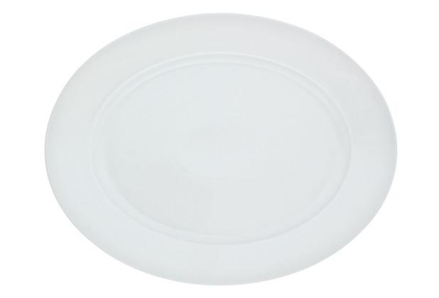 Kahla Aronda weiß Platte, oval 32 cm