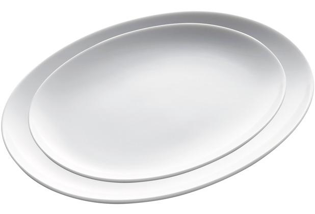 Kahla BBQ Platten-Set 2tlg. weiß