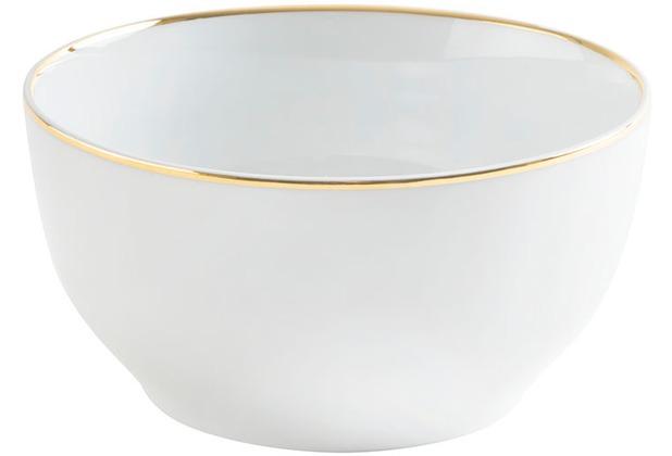 Kahla Dîner Schüssel 19 cm, 1,70 l Line of Gold