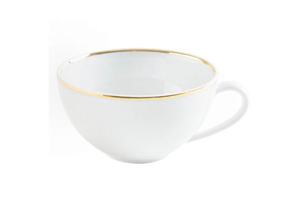 Kahla Dîner Tee-/Cappuccino-Obertasse 0,25 l Line of Gold