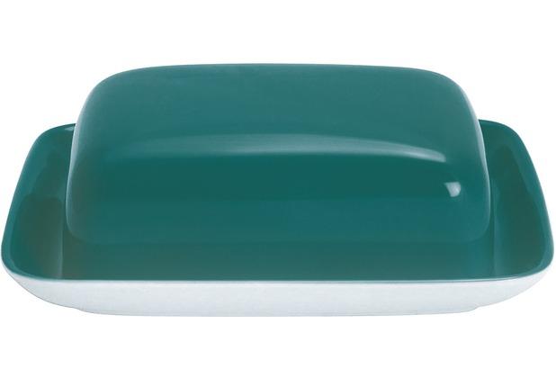 Kahla Einzelteile Butterdose, eckig opalgrün