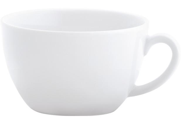 Kahla Einzelteile Frühstücks-Obertasse 0,40 l weiß hoch