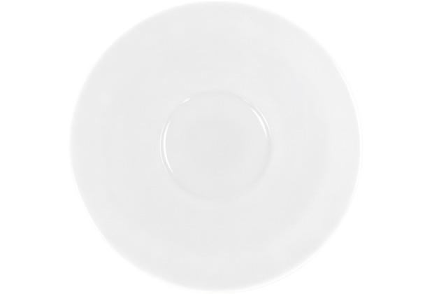 Kahla Einzelteile Untertasse 18cm weiß