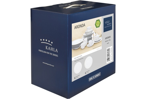 Kahla Fahne Tafel-Set 12tlg. weiß